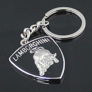 Neu Schlüsselanhänger Für Lamborghini Auto Motorrad Keyring Npc