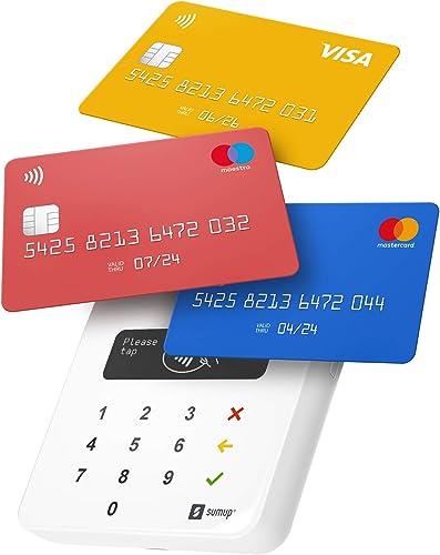 Terminal de Paiement Carte Bancaire Mobile SumUp Air | Paiement avec Carte de Débit, Carte de Crédit, Apple & Google ...