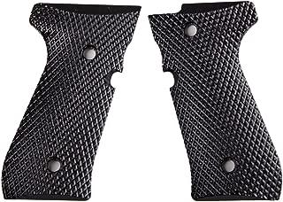 StonerCNC Beretta 92 Gun Grip Super Aggressive Black G10 Fits 92FS/96 M9 Series Pistol