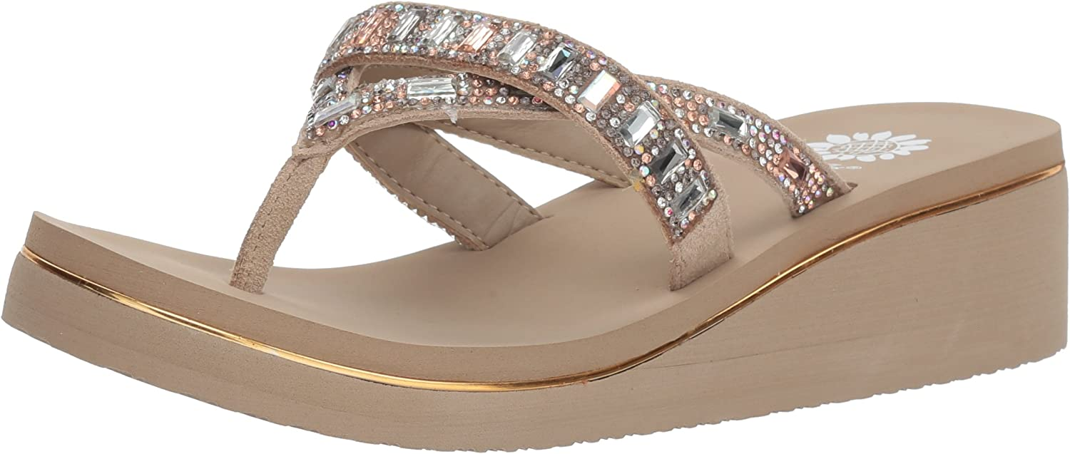 Yellow Box Womens Alanna Sandal