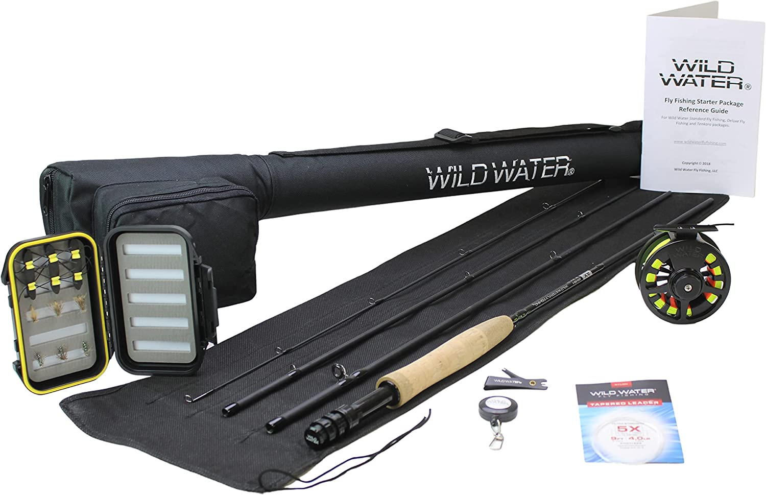 Wild Water Fly Fishing Complete 5/6 Starter Package Amazon's Choice