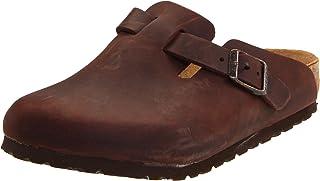 Birkenstock Boston - Oiled Leather (Unisex) Habana Oiled Leather EU 40 (US Men's 7-7.5, Women's 9-9.5) Regular