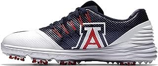 Womens UofA Lunar Control 4 Golf Shoes University Arizona Wildcats (9.5) White Blue Red