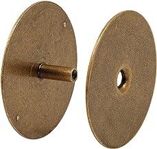 Defender Security Placa de cobertura para orifício de porta U 10888 – mantém a segurança da porta de entrada cobrindo orif...
