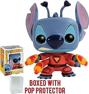 Funko POP. Disney: Lilo & Stitch–Punto de 626Protector de figura (incluido con caja de Pop de vinilo funda)