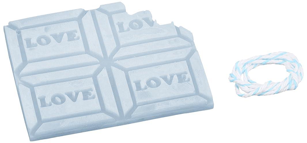 ワンダーピボットすみませんGRASSE TOKYO AROMATICWAXチャーム「板チョコ(LOVE)」(BL) ローズマリー アロマティックワックス グラーストウキョウ