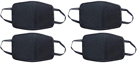 Ben Martin Anti Pollution Dust Protection Half Face Mask Bike Riding mask (Black, Pack Of 4)