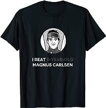 Play Magnus: I Beat 9-Year-Old Magnus Carlsen T-Shirt