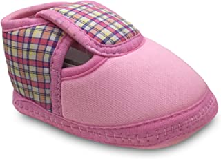 Tavish Candy Baby Boy's and Girl's Canvas Shoes with Anti-Slip Sole (3-12 Months)