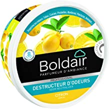 BOLDAIR Gel Destructeur Odeurs Citron