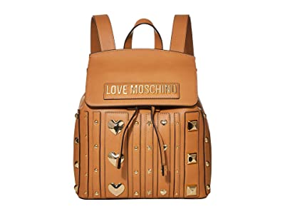 LOVE Moschino Love and More Backpack (Camel) Backpack Bags