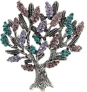 Disponibili spille con strass per albero da donna