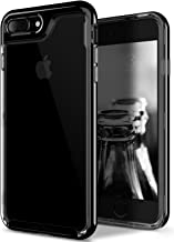 Caseology [Skyfall Series] Transparent Clear Slim Scratch Resistant Cover Drop Protection for Apple iPhone 7 Plus - iPhone 8 Plus - Jet Black