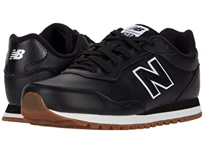 New Balance Kids 527 (Big Kid) (Black/Munsell White) Boy