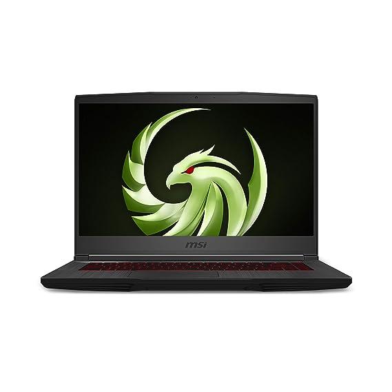 """MSI Bravo 15 Ryzen 7 4800H 15.6"""" (39.62cms) FHD Gaming Laptop (16GB/512GB SSD/144 Hz/Windows 10/ RX5500M,GDDR6 4GB/Black/1.86 kg), A4DDR-212IN"""