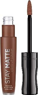 Rimmel London Stay Matte Liquid Lip Colour - 0.18fl oz, 731 Scandalous