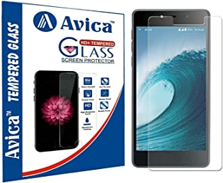AVICA® 0.3mm HD Tempered Glass Screen Protector for Reliance Gio LYF Water 3