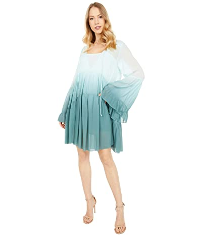 Young Fabulous & Broke Rosa Mini Dress (Ocean Bay Ombre) Women