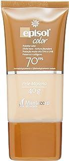Episol Color Protetor Solar Color Pele Morena FPS 70, 40g