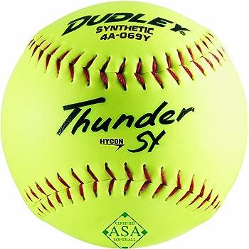 One Dozen Worth 12-Inch Slowpitch AHD12SY ProTac ASA Ball
