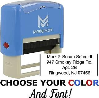 Custom Stamp - Self-Inking Stamp (4 Line Stamp)