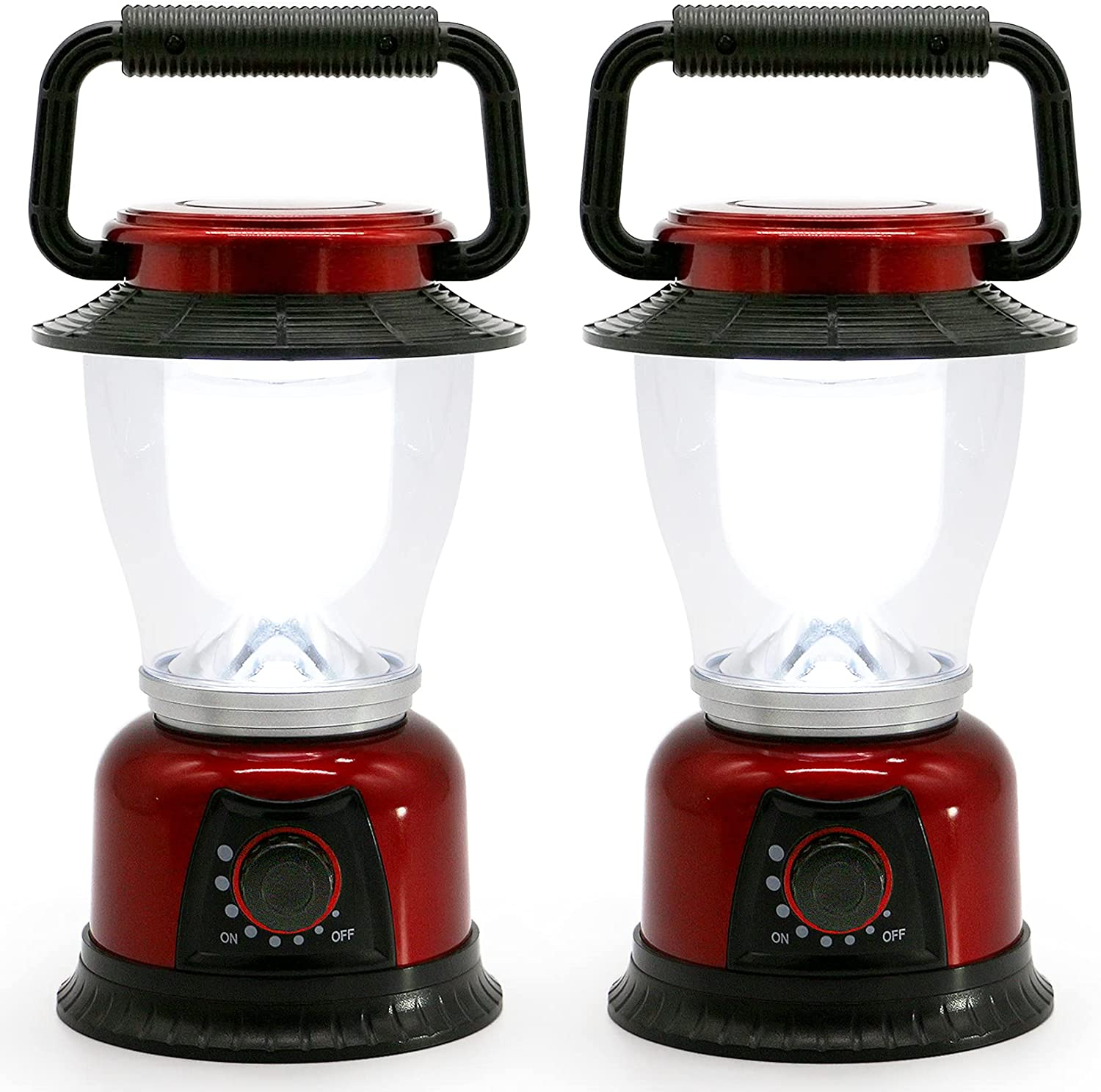 Fant.Lux Up to 120-Lumens, 2-Pack LED Lantern  $14.99 Coupon