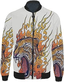 Novelty Design Men's Bomber Jacket Coat