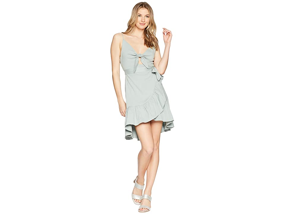 ASTR the Label Sandy Dress (Sage) Women