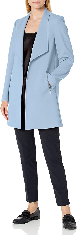 Tahari ASL Women's Open Topper Front Max 58% OFF Pocket Choice Zipper