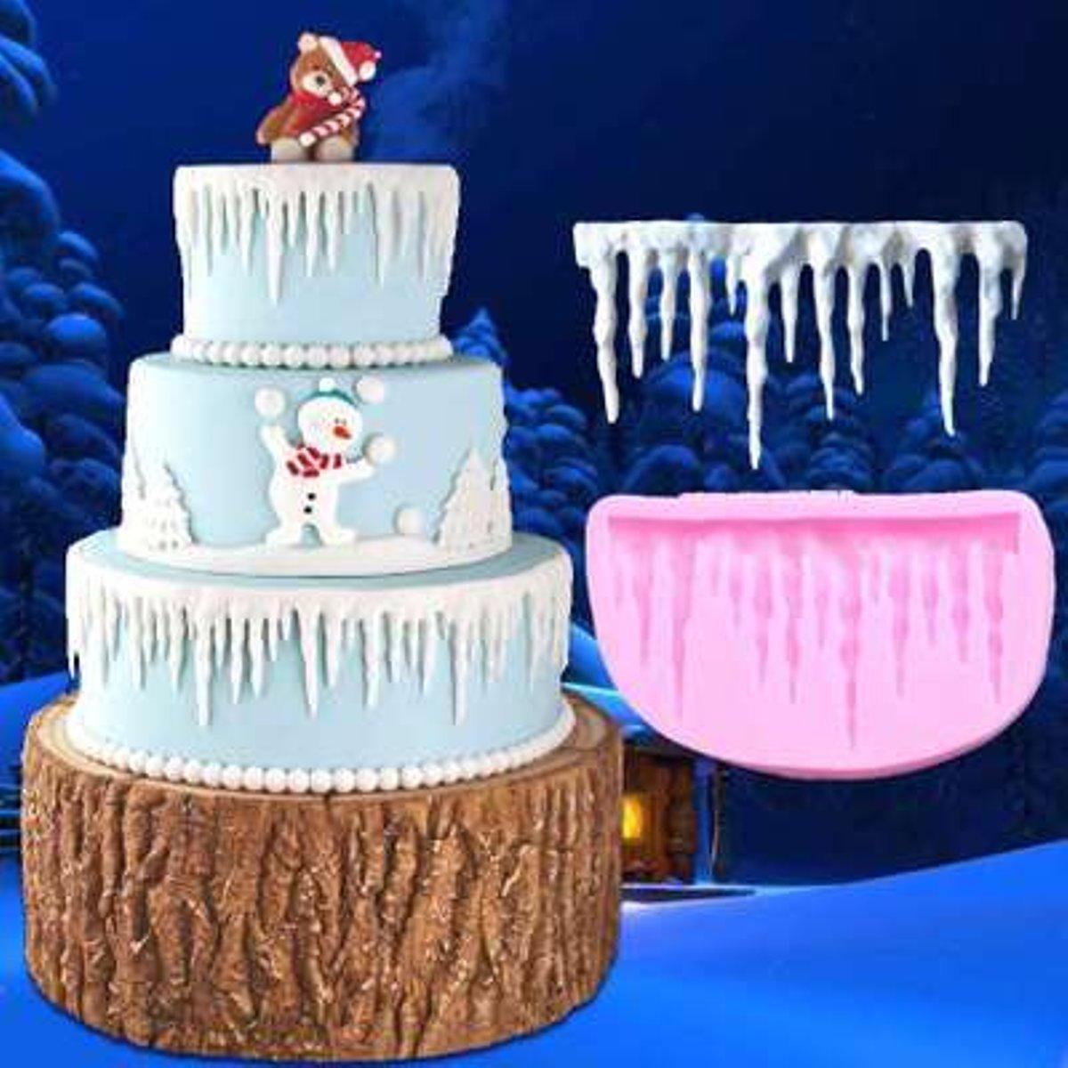 Tacoli - Molde de silicona para decoración de tartas, diseño de bicicleta, ideal para decoración de pasteles, fondant o pasteles de Navidad: Amazon.es: Hogar