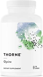 Thorne Research - Glycine - Amino Acid Support for Relaxation, Detoxification, and Muscle Function - 250 Ca...