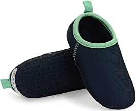 Toddler Water Shoes - Non Slip Sole Aqua Socks for kids – Snug Fit Beach Shoes