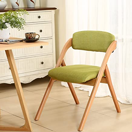 Chi Cheng Fang Electronic business Folding chair Solid wood computer chair modern Home Removable armchair  Color