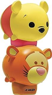 Lip Smacker Disney Tsum Tsum Lip Balm Duo, Winnie The Pooh Honey Pot/Tigger Bouncy Bubble Gum, 2 Count