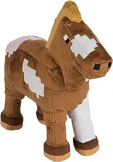 JINX Minecraft Horse Plush Stuffed Toy, Multi-Colored, 13