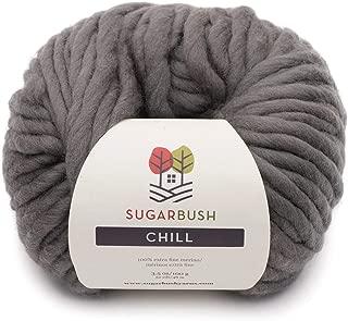 Sugar Bush Yarn Chill Extra Bulky Weight, Hudson's Grey