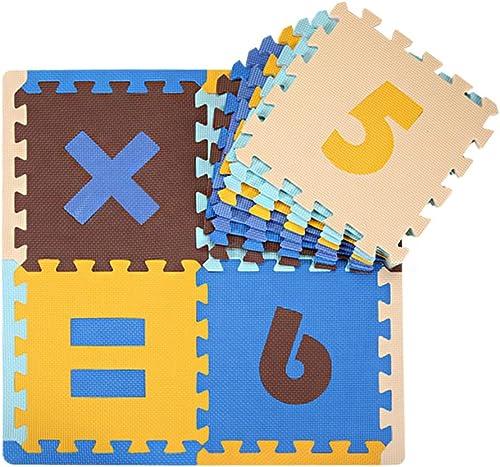 Digital-Puzzlespiel-Puzzlespiel-Schaum-Matte, Karikatur-Muster-kriechende Matte, nach Hause lebende Schaum-Matte 30  30  1cm