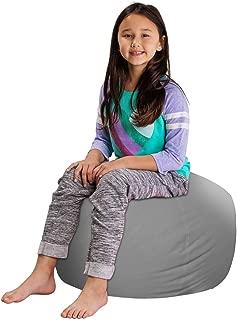 Posh Stuffable Kids Stuffed Animal Storage Bean Bag Chair Cover - Childrens Toy Organizer, Medium 27