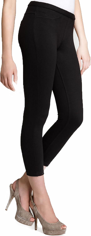 Hue Women's Black Glitter Jeans Skimmer XSmall