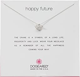 Dogeared Happy Future, Origami Crane Necklace