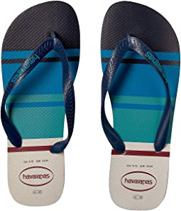 Top Nautical Flip-Flops