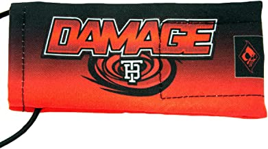 Wicked Sports Tampa Bay Damage Barrel Sock/Cover Red/Black Fade