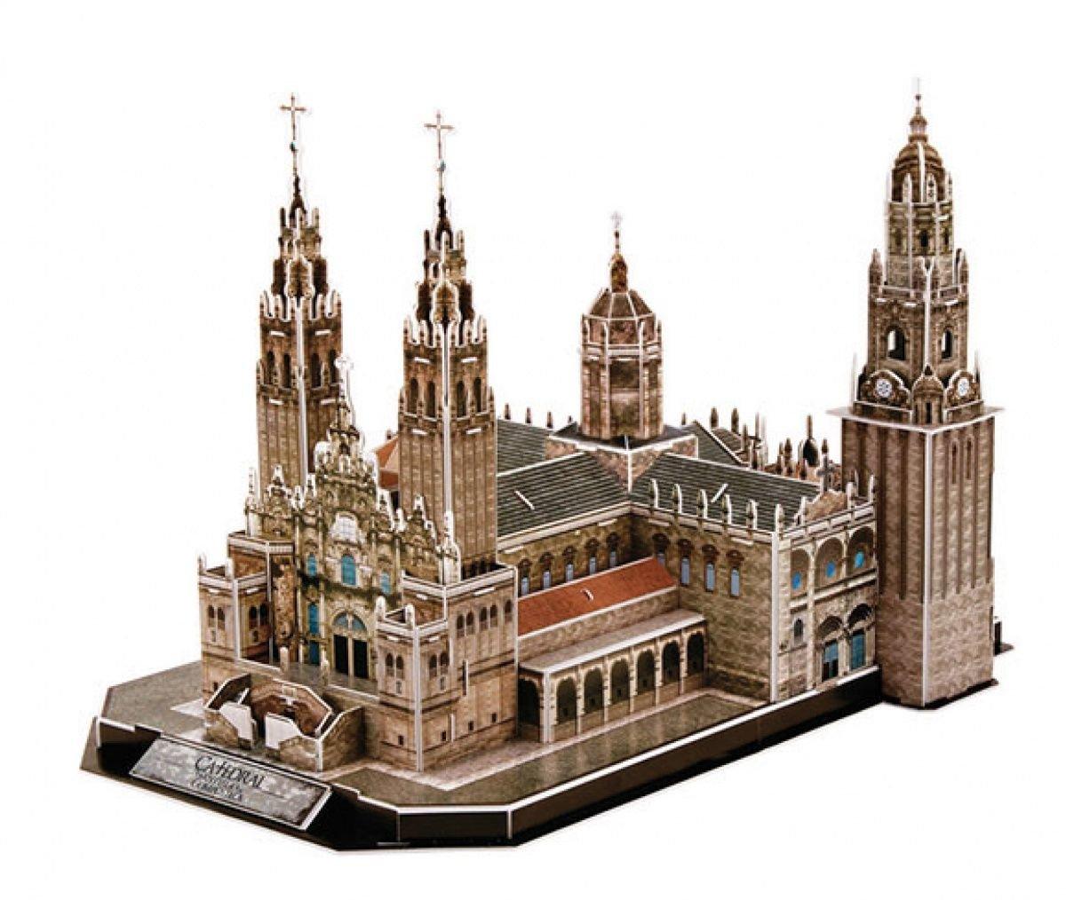 CubicFun- Puzzle 3D Catedral de Santiago (CPA Toy Group Trading S.L. MC184H): Amazon.es: Juguetes y juegos
