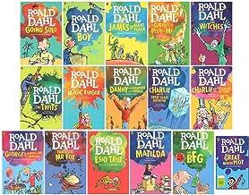 Roald Dahl 16 Books Collection Set (The BFG, Matilda, Esio Trot, George`s Marvellous Medicine, Fantastic Mr Fox, The Magic...