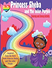 Princess Sheba and The color Purple: Coloring and Emergent Literacy Activity