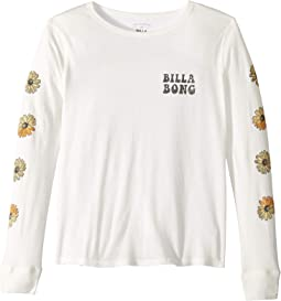 Daisy Days Long Sleeve Tee (Little Kids/Big Kids)