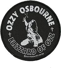 Ozzy Osbourne Blizzard of Ozz Patch Album Art Heavy Metal Woven Sew On Applique