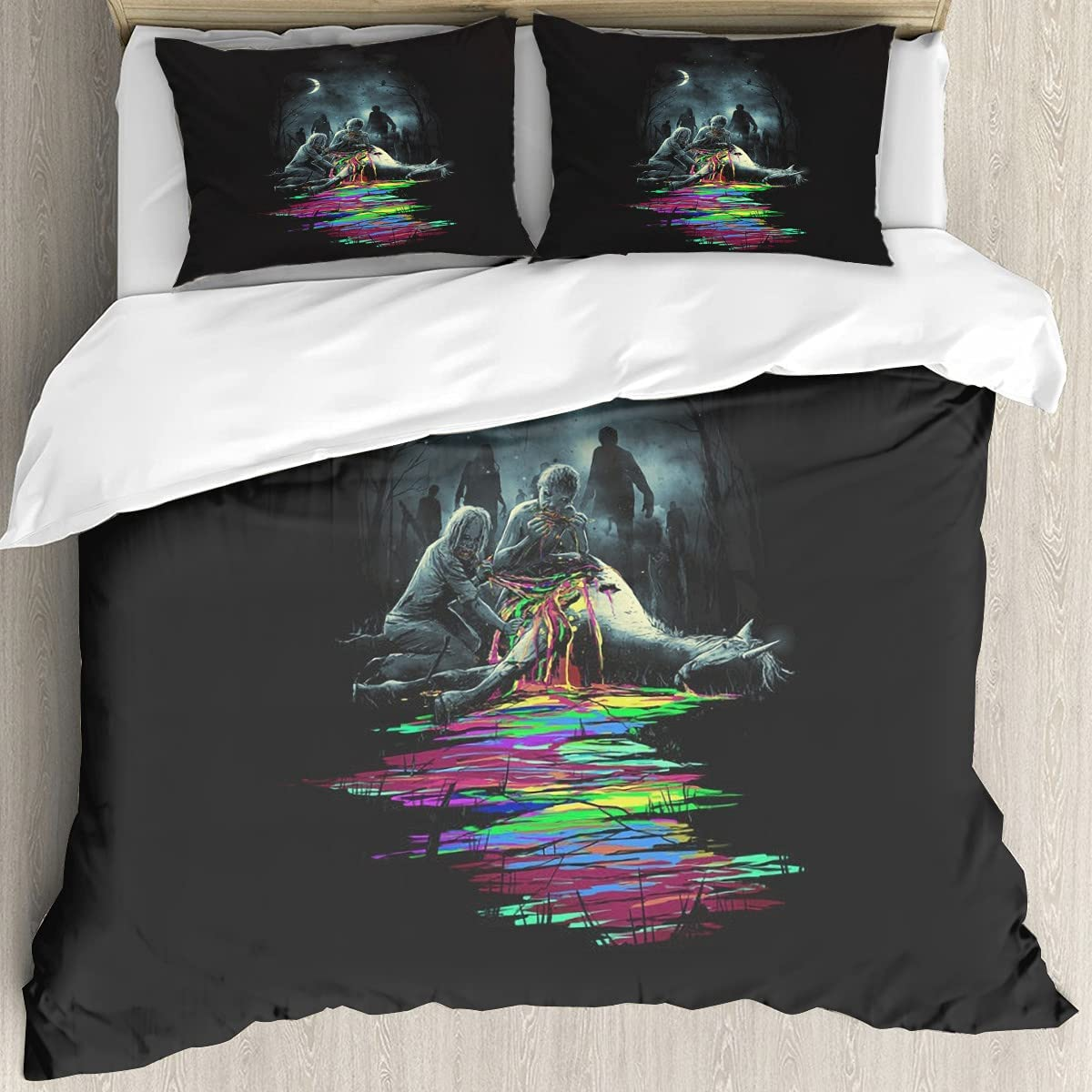 Midnight Snack 3D Printing Cheap sale Cover Twin Set Super intense SALE Breat Soft and Bedding