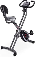 Ultrasport F-Bike 300B met rugleuning - hometrainer - fitnessbike - matzwart