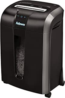 Fellowes Workgroup cross cut shredder Model 73ci with 100% Jam Proof & exclusive powershred cutting system for office use,...